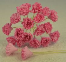 MEDIUM PINK GYPSOPHILA / FORGET ME NOT Mulberry Paper Flowers